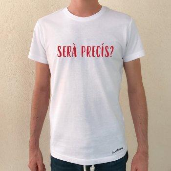 camiseta serà precís chico blanca