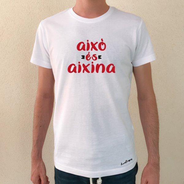 samarreta això és aixina xic blanc