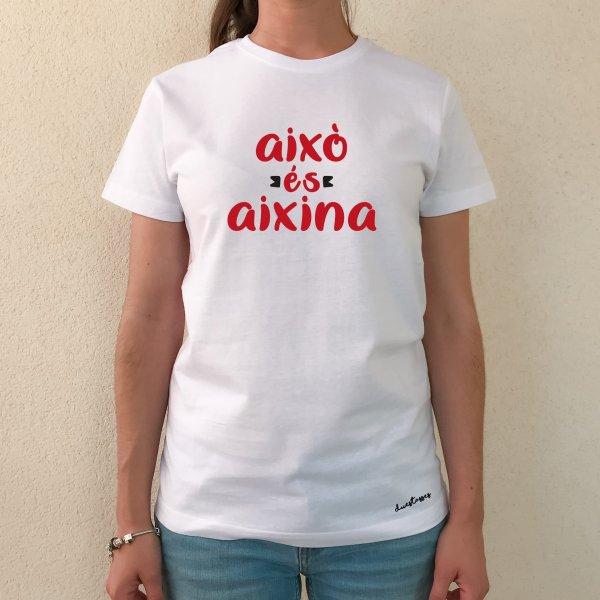 samarreta això és aixina blanca xica