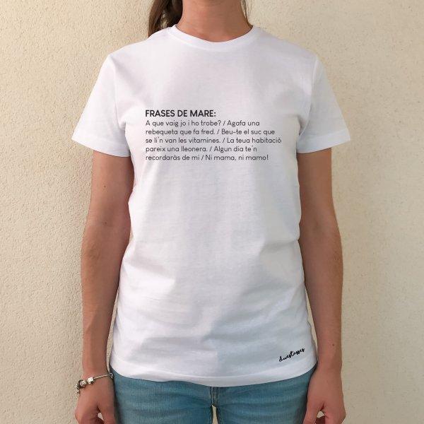 samarreta blanca xica frases de mare