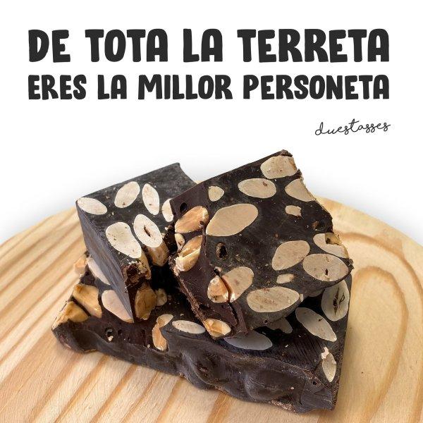torró xocolate ametlla