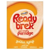 Ready Brek golden syrup oats