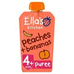 Ellas Kitchen Baby Food Collectibles Ella S Organic Peaches Bananas Stage 1
