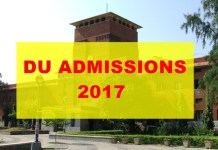 DU Admissions 2017 : Admission Process Delayed,To Begin From Second Week Of May