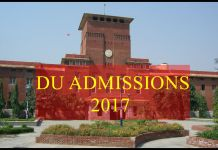 DU Admissions 2017 : Online Entrance For Under Graduate,Masters & Research Courses
