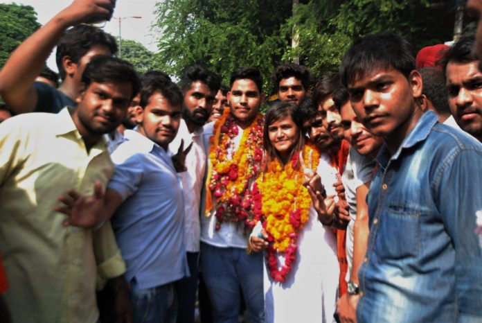 DUSU Results 2017 : NSUI Bags Top Two Posts,Students Voted For Change This Year