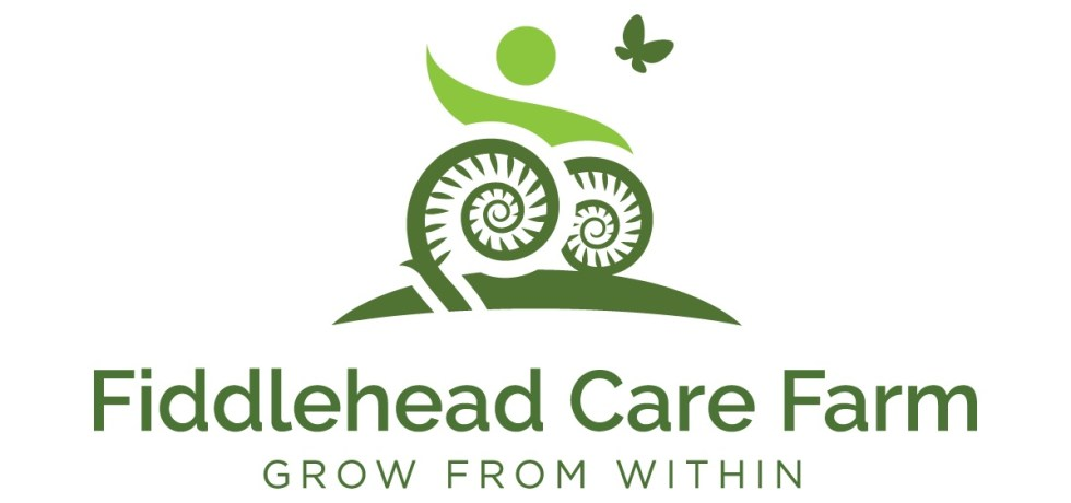 Logo for Fiddlehead Care Farm