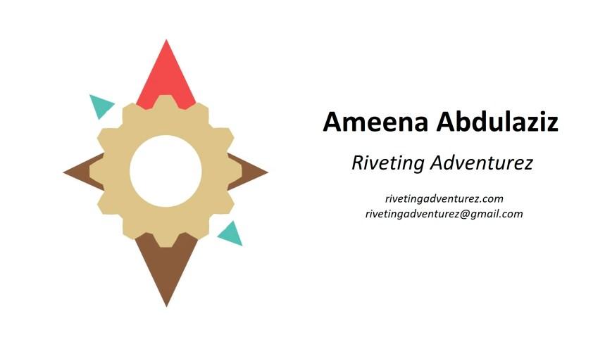 The logo for Riveting Adventurez
