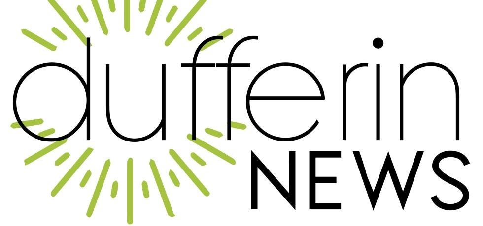 The logo for Dufferin News