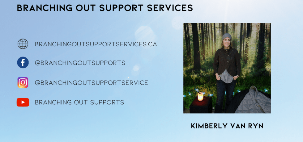 Kimberly Van Ryn of Branching Out Support Services