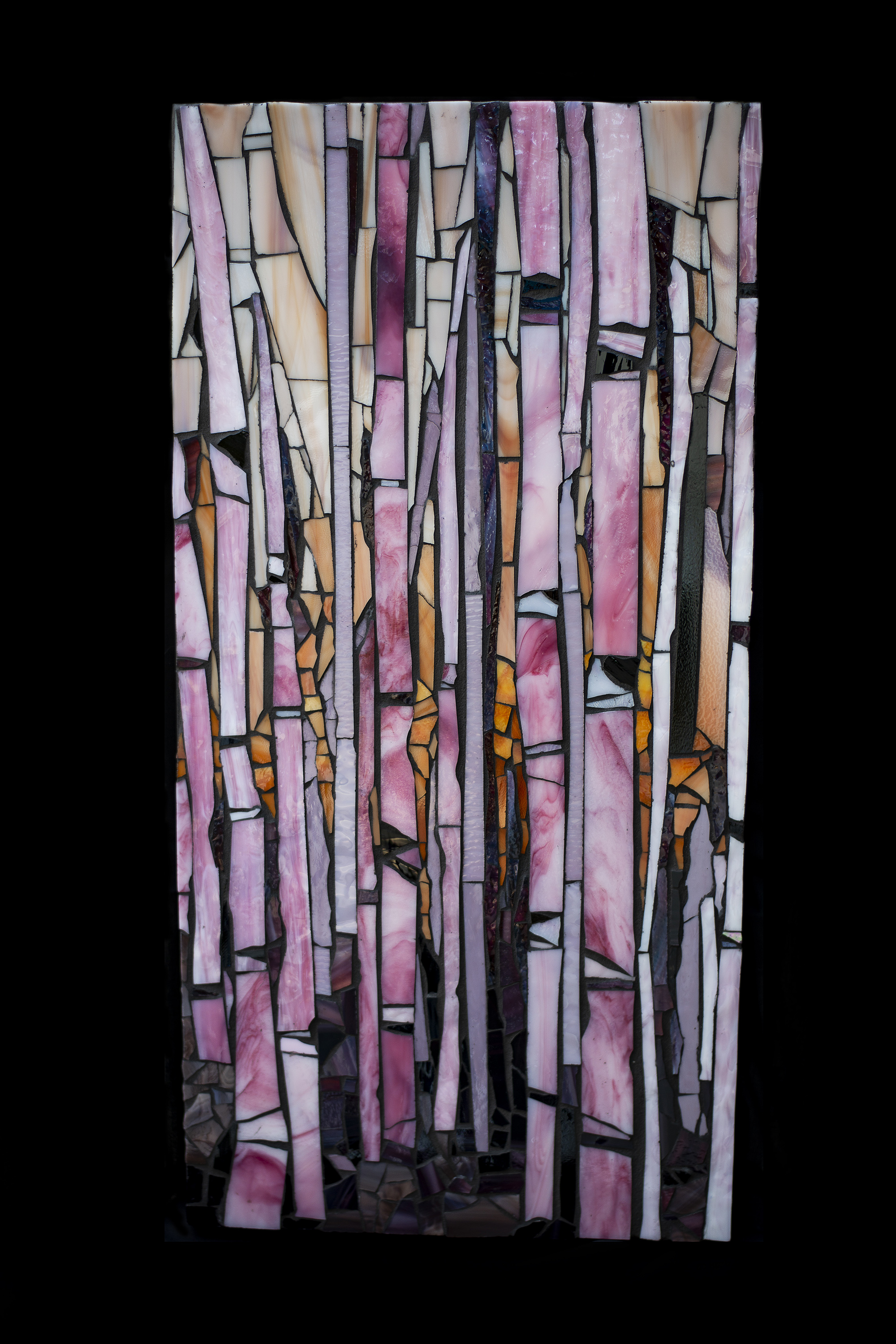 Pink Birch By MaryLou Hurley
