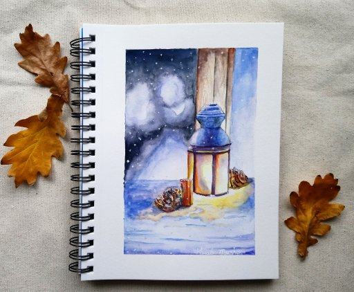 Original Watercolour Painting by Khaula Mazhar