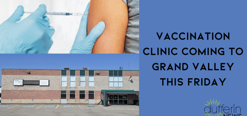 Vaccination Clinic Coming to Grand Valley This Friday