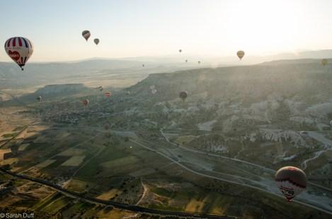 Hot air ballooning, Cappadocia, Turkey-5
