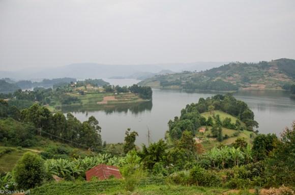 Beautiful Lake Bunyonyi
