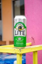 Tusker beer always goes down well