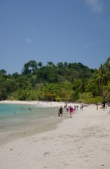A perfect beach in Manuel Antonio National Park