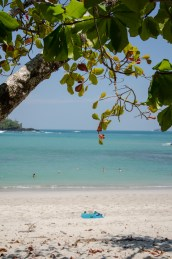 A perfect beach in Manuel Antonio National Park