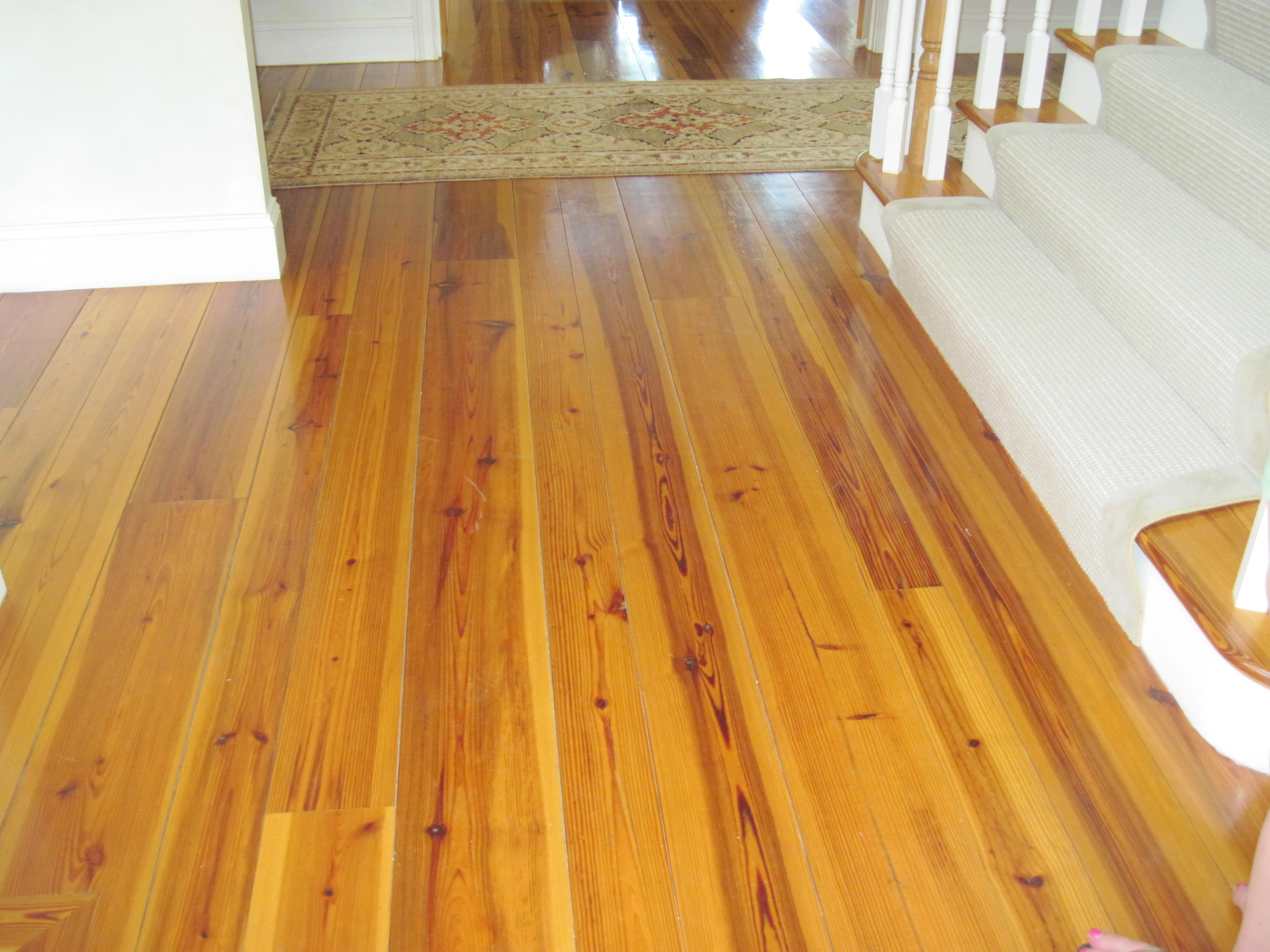 Refinishing Heart Pine Floors  Floor Matttroy