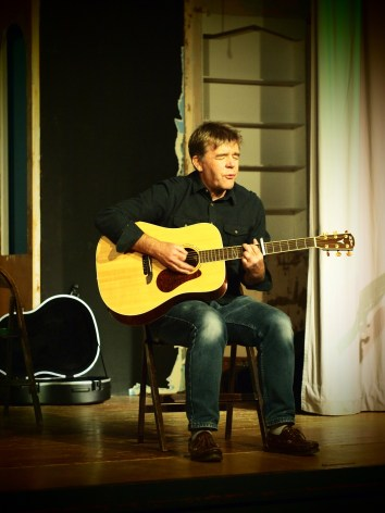 Jim Orwin played 3 beautiful songs about real life
