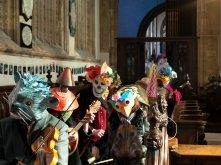 An unusual congregation