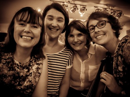 Claire, Lisa, Lou and Vivian