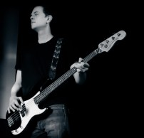 Woody on bass