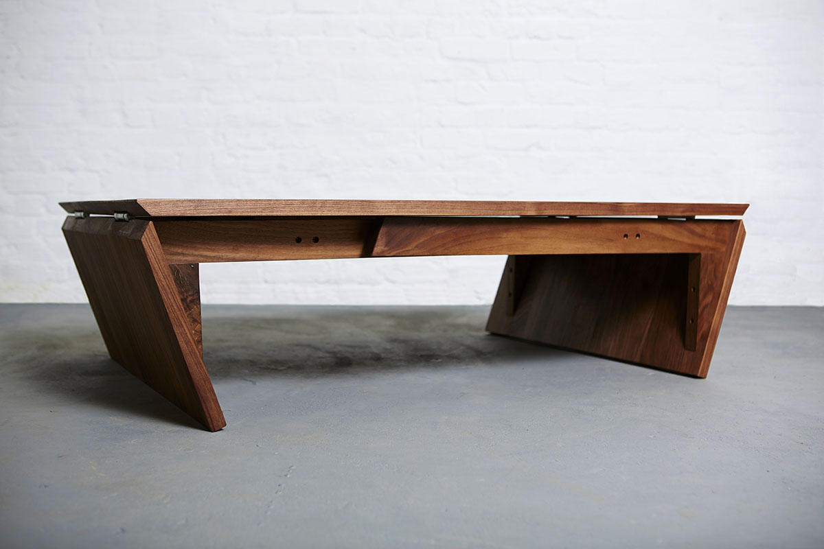 Dining Table Converts Coffee Table