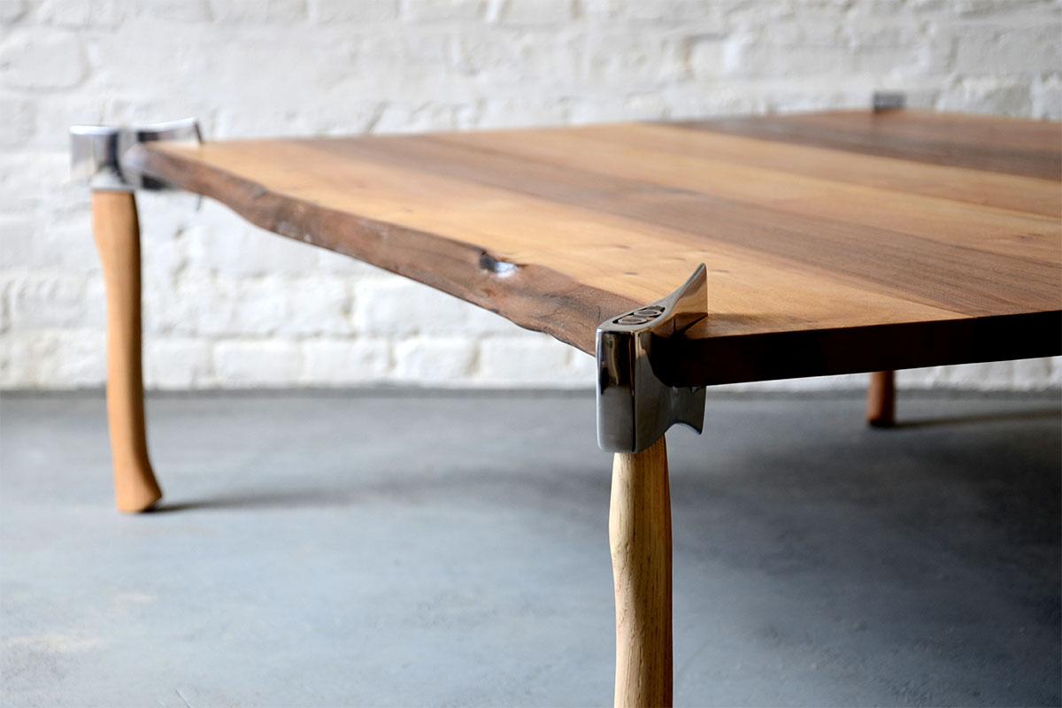 Woodsman Axe Table  Duffy London