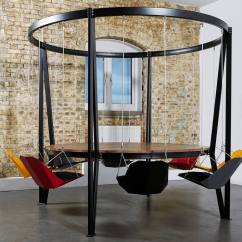 Swing Chair Local Covers Hire Essex The King Arthur Round Table Duffy London 8 Seat Carousel 01