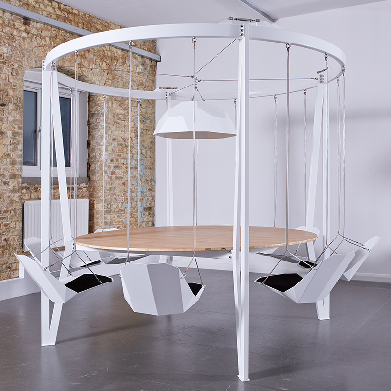 round oak table and chairs dining nz the king arthur, swing - duffy london