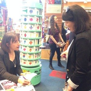 Today I met Kylie Fornasier author of Masquerade…