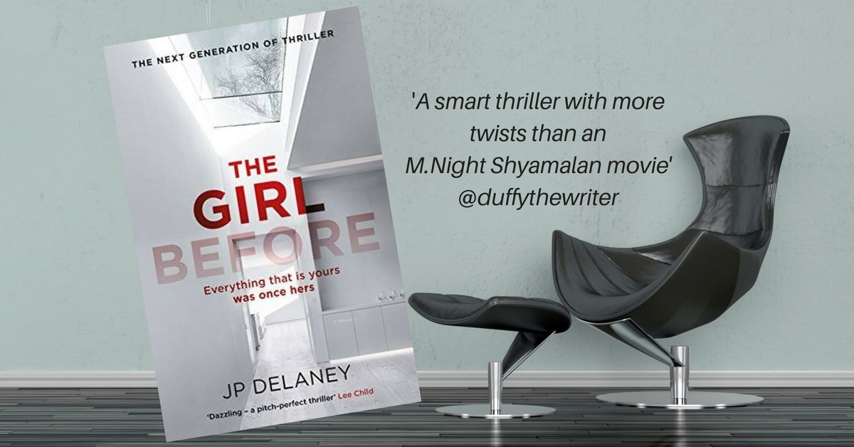 The Girl Before - Clever thriller with plenty of twists