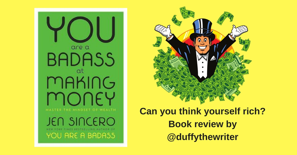 book review you are a badass at making money @duffythewriter