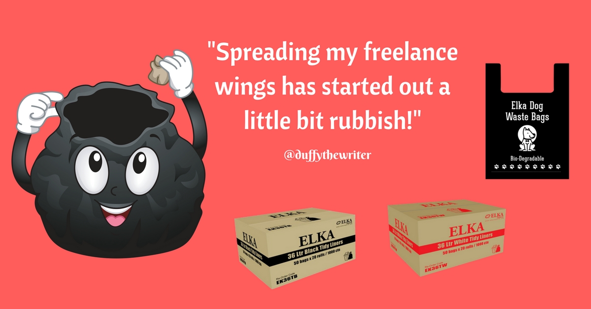 spreading my freelance wings @duffythewriter