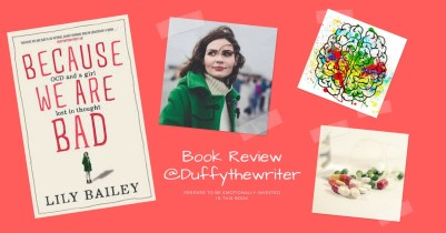 because we are bad OCD book review @duffythewriter