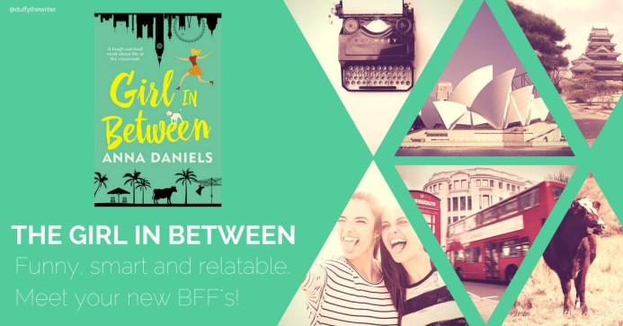 book review The Girl In Between @Duffythewriter