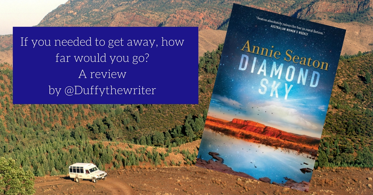 @duffythewriter Annie Seaton Diamond Sky Book Review
