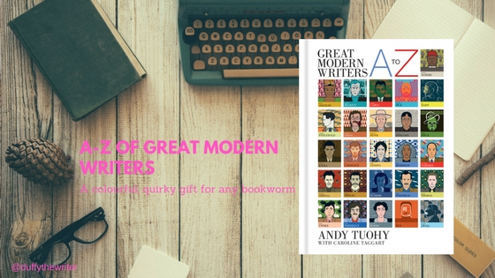@duffythewriter review a-z modern writers by Andy Tuohy