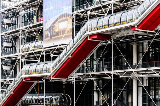 Centre Pompidou, Paris. Designed by Richard Rogers