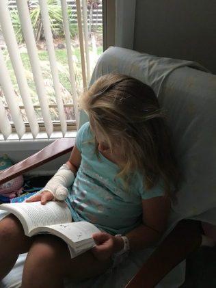 reading Rain Fall by Ella West