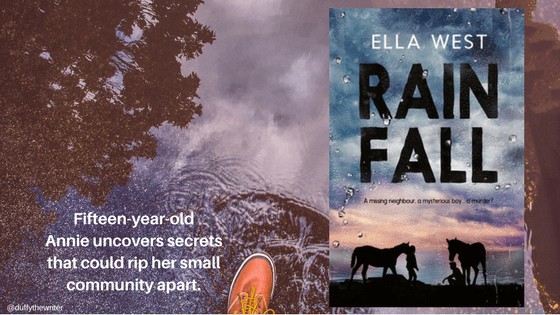 rain fall by Ella west review