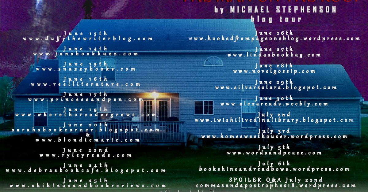 the man on the roof blog tour