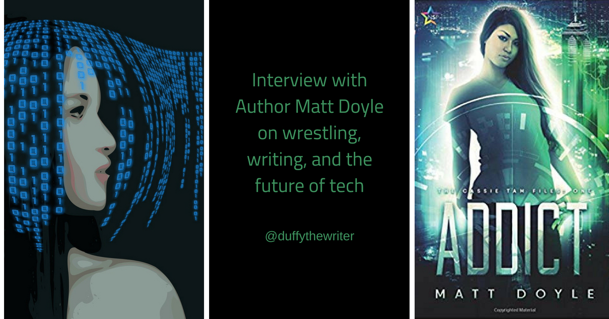Interview with author Matt Doyle - Wrestler To Writer!