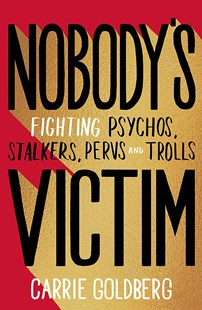 Nobody's Victim book review. Carrie Goldberg fights against internet pervs, trolls and stalkers