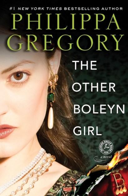 The Other Boleyn Girl by Philippa Gregory. Tudor historical fiction