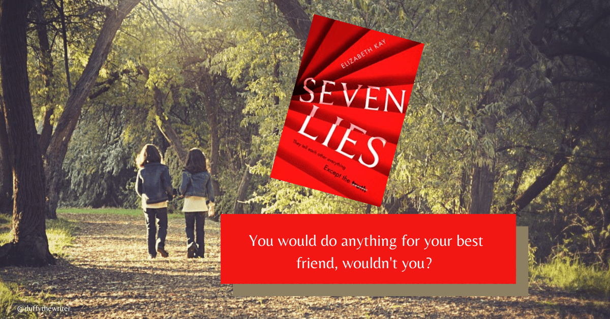 seven lies book review by duffythewriter