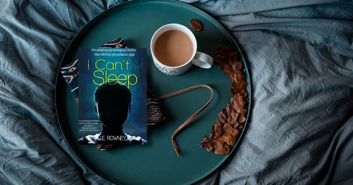 I can't sleep book blog tour duffythewriter