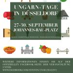 Ungarn-Tage Düsseldorf Plakat