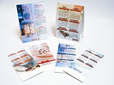 calendare personalizate perete agentie de publicitate dugheana de printuri design grafica